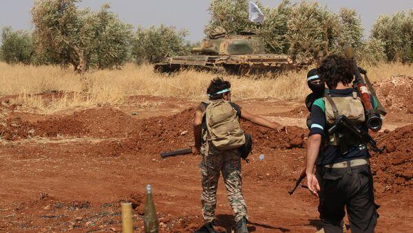 Rebel forces from Jaysh al-Islam (Army of Islam) (File) - Sputnik Mundo