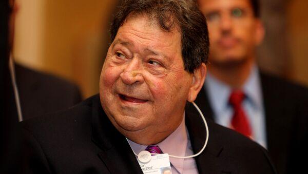 Benjamin Ben-Eliezer, exministro de Defensa de Israel - Sputnik Mundo