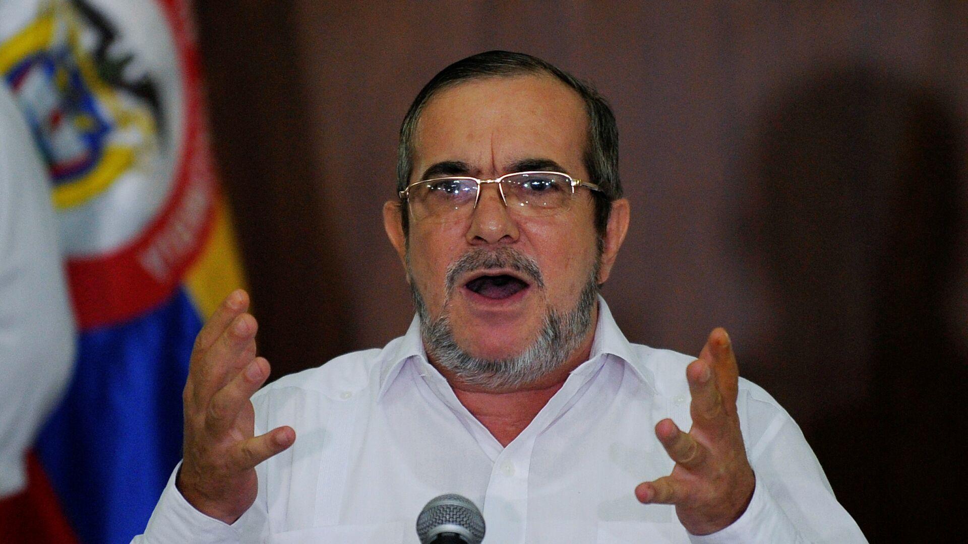Rodrigo Londoño, alias 'Timochenko', el líder del partido colombiano FARC  - Sputnik Mundo, 1920, 24.02.2021