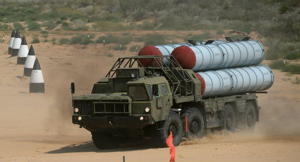 Sistema ruso de defensa antiaérea S-300