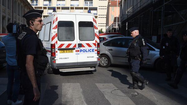 Policía de Marsella (archivo) - Sputnik Mundo