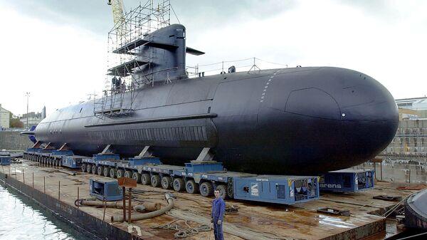 Un submarino francés (imagen referencial) - Sputnik Mundo