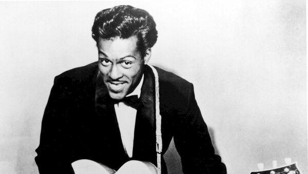 Chuck Berry, el músico estadounidense - Sputnik Mundo