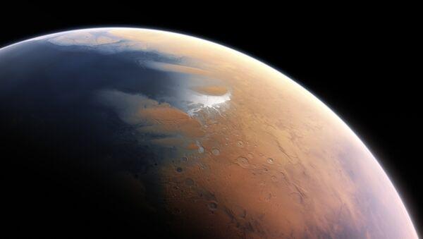 Impresión artística del Marte - Sputnik Mundo