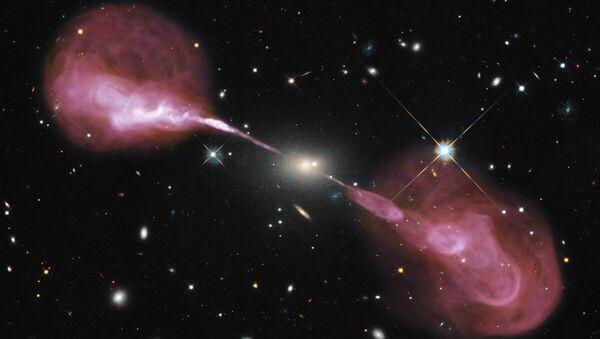 La galaxia de Hércules A - Sputnik Mundo