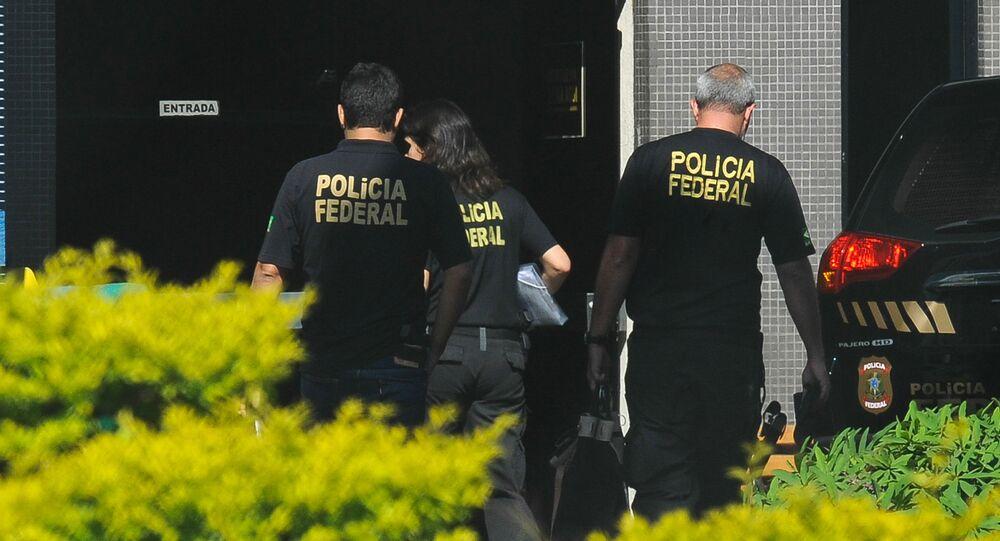 Agentes de la Policía Federal de Brasil (archivo)