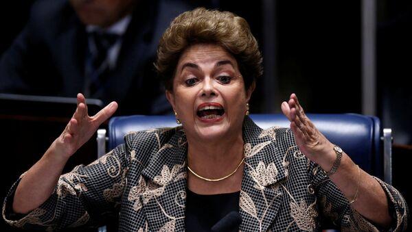 Dilma Rousseff, expresidenta de Brasil (archivo) - Sputnik Mundo