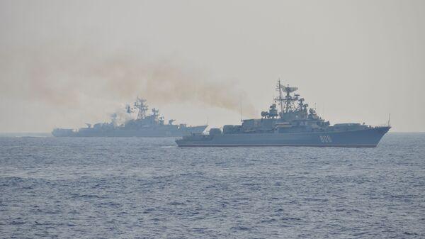 Buques de la Flota del mar Negro, Rusia - Sputnik Mundo