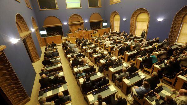 Las elecciones presidenciales en Estonia - Sputnik Mundo