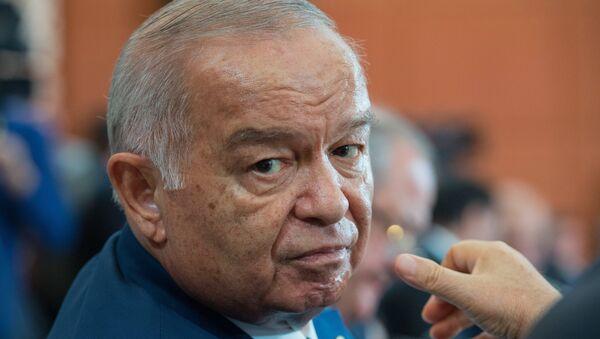 Islam Karímov, presidente de Uzbekistán - Sputnik Mundo