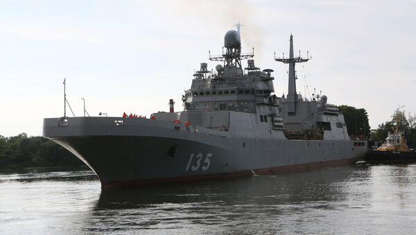 El buque de asalto anfibio ruso, Iván Gren - Sputnik Mundo