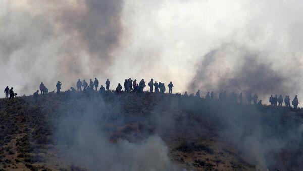 Protesta de mineros bolivianos - Sputnik Mundo