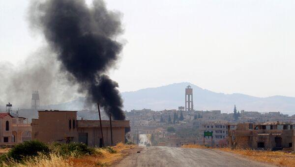 Situación en la provincia de Hama, Siria (imagen referencial) - Sputnik Mundo