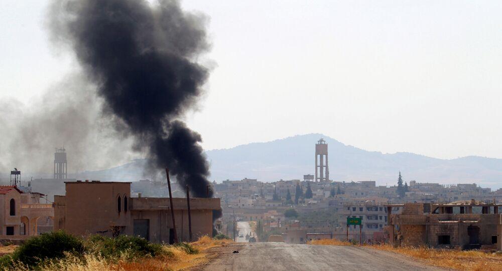Situación en la provincia de Hama, Siria (archivo)