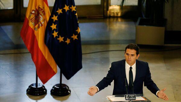 Albert Rivera, presidente de Ciudadanos - Sputnik Mundo