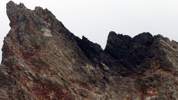 Lugar del siniestro del caza suizo en los Alpes - Sputnik Mundo