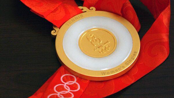 La medalla de oro de los JJOO de Pekín 2008 - Sputnik Mundo