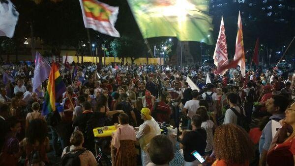 Protestas contra Temer en Brasil - Sputnik Mundo