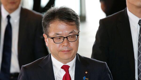 Hiroshige Seko, ministro de Comercio y Industria de Japón - Sputnik Mundo