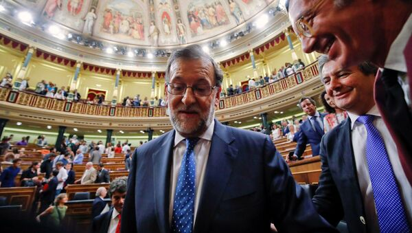 Mariano Rajoy, el primer ministro de España - Sputnik Mundo