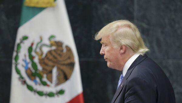Donald Trump, en Ciudad de México - Sputnik Mundo
