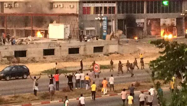 Disturbios en Gabón - Sputnik Mundo