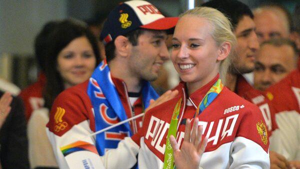 Los deportistas rusos - Sputnik Mundo