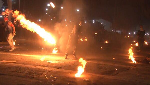 Los salvadoreños emulan a los personajes de Street Fighter II y se tiran bolas de fuego - Sputnik Mundo