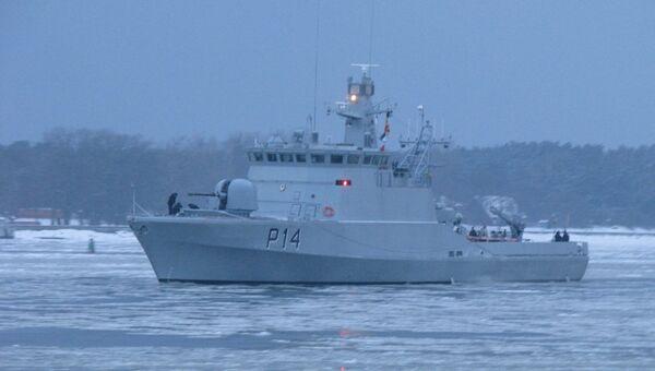 Un patrullero P14 Aukstaitis - Sputnik Mundo