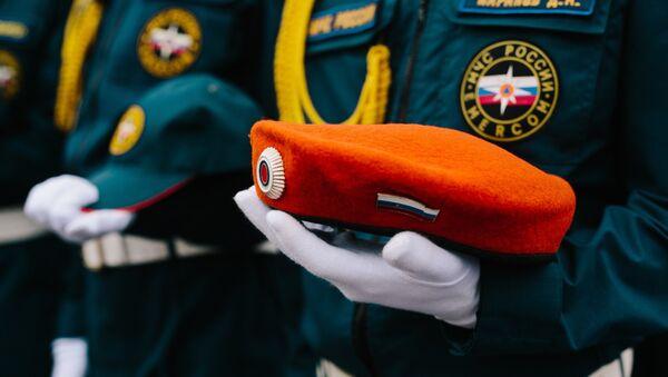 Los rescatadores del Ministerio de Emergencias de Rusia - Sputnik Mundo