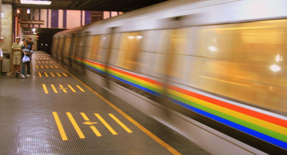 Metro en Caracas