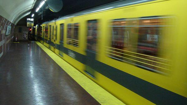 Metro de Buenos Aires, Argentina (imagen referencial) - Sputnik Mundo