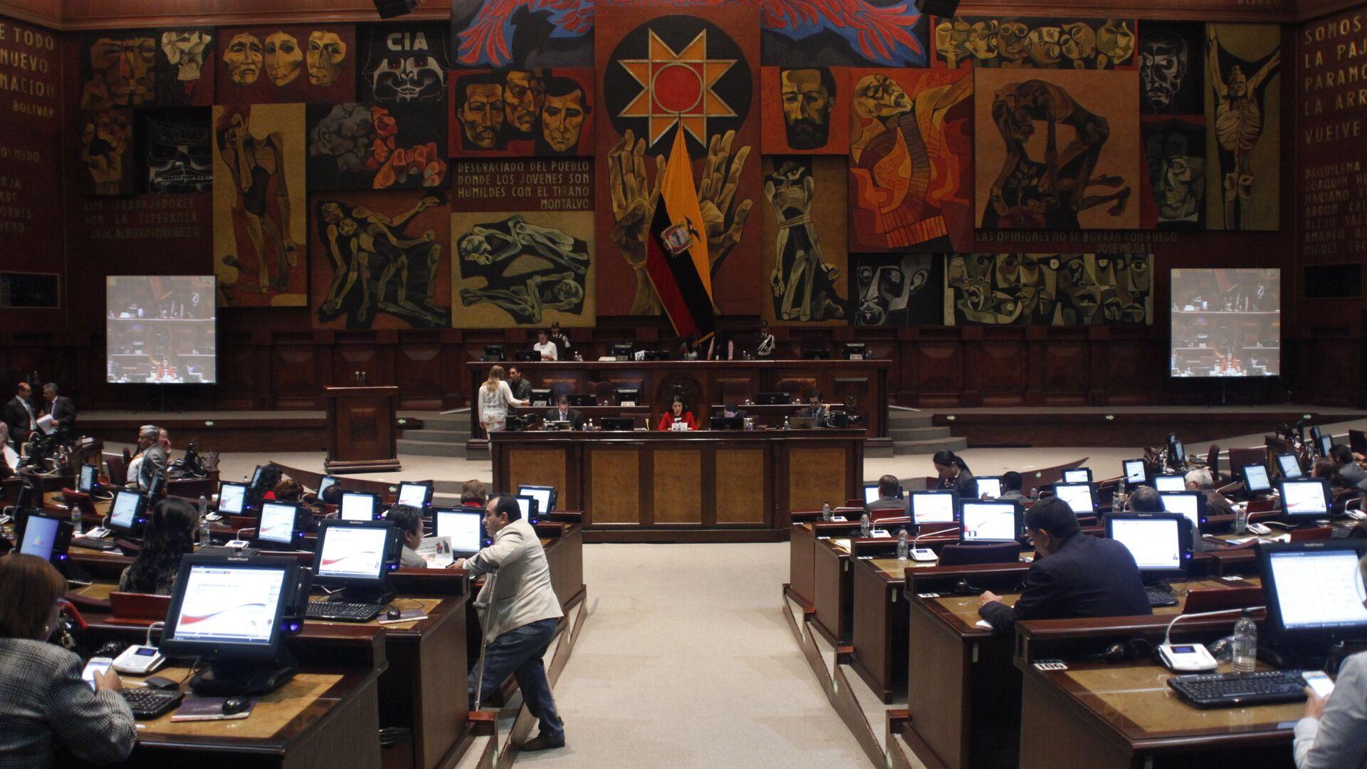 La Asamblea Nacional de Ecuador (archivo) - Sputnik Mundo, 1920, 18.03.2021