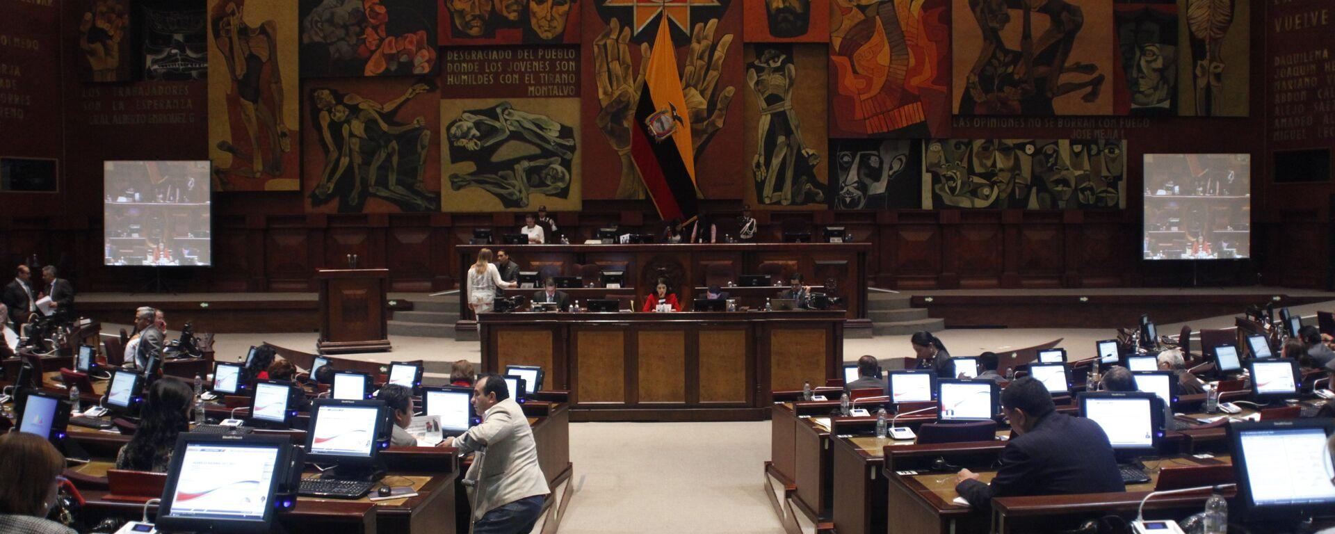 La Asamblea Nacional de Ecuador (archivo) - Sputnik Mundo, 1920, 15.05.2021