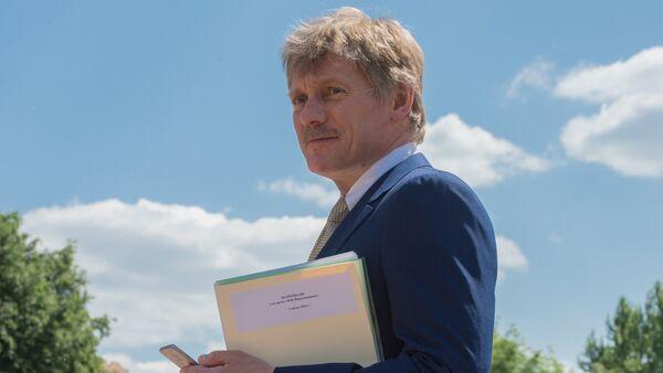 Dmitri Peskov, portavoz del presidente de Rusia - Sputnik Mundo