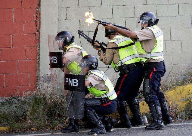 Policía venezolana (archivo)