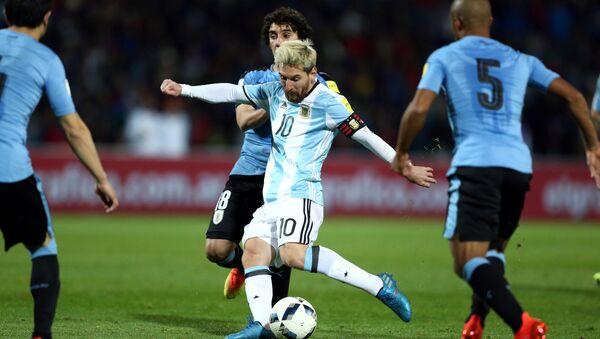 Lionel Messi, el futbolista argentino - Sputnik Mundo