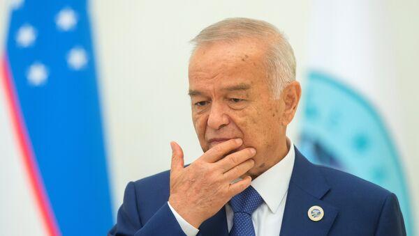 Islam Karímov, el presidente de Uzbekistán - Sputnik Mundo