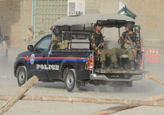 Policía de Pakistán (imagen referencial)