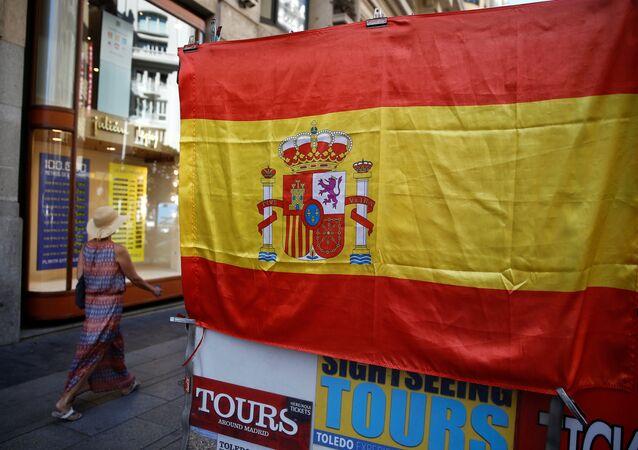 La bandera de España
