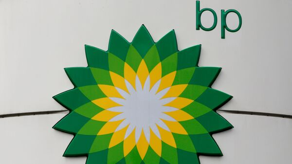 El logo de la compañía petrolera BP - Sputnik Mundo