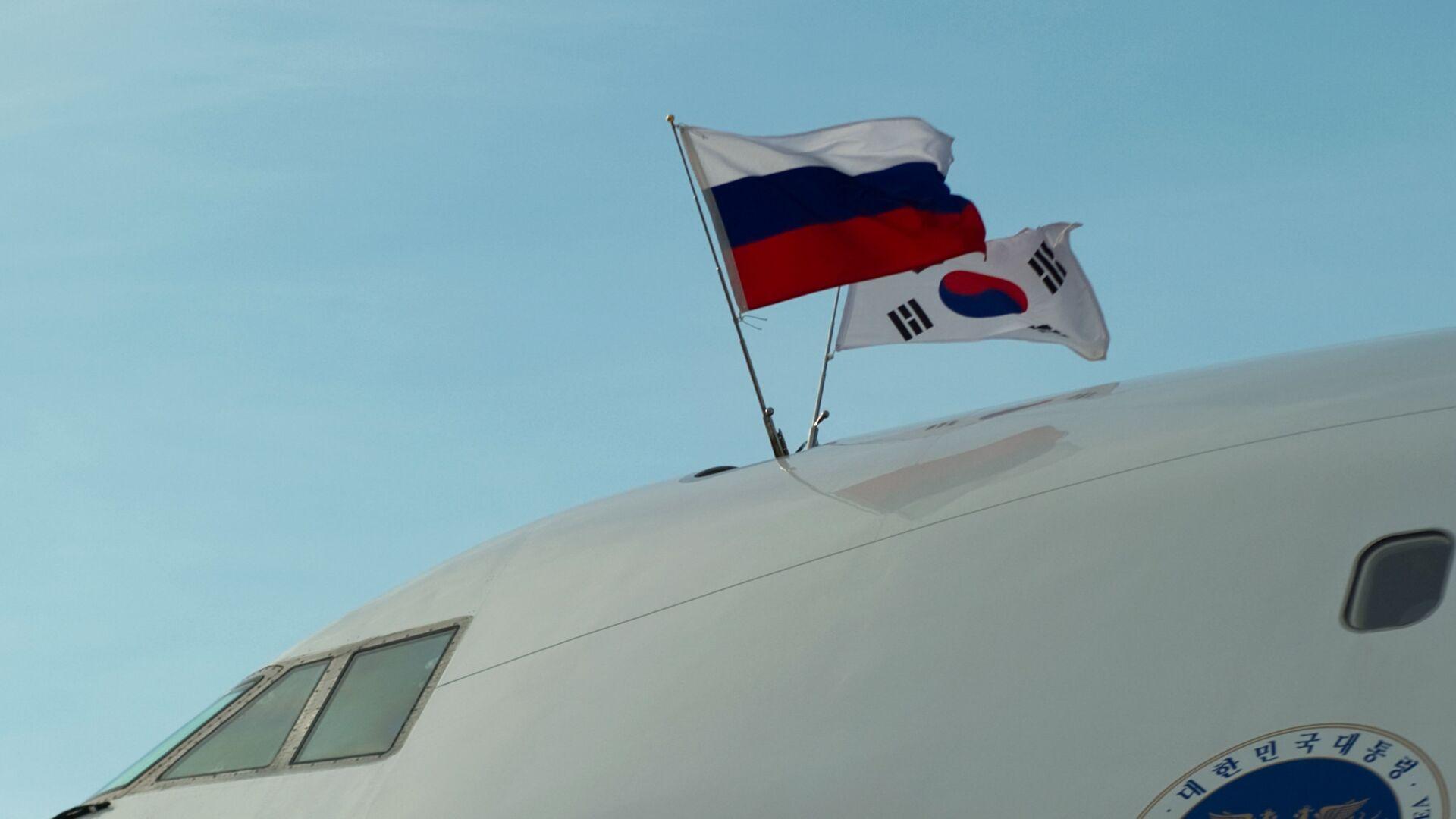 Banderas de Rusia y Corea del Sur - Sputnik Mundo, 1920, 29.03.2021