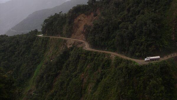 Un camino en Bolivia - Sputnik Mundo