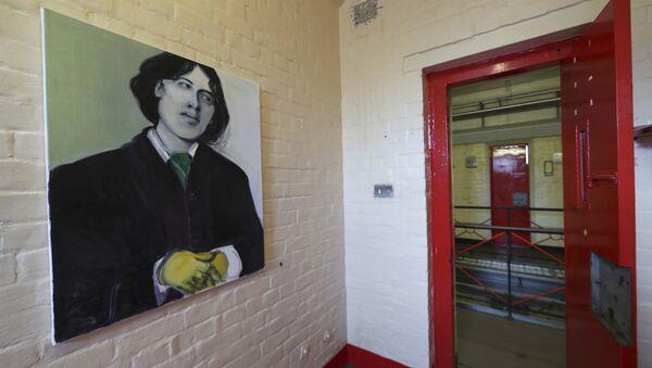 Un retrato de Oscar Wilde en la cárcel de Reading - Sputnik Mundo