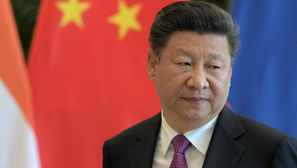 Xi Jinping, presidente de China - Sputnik Mundo