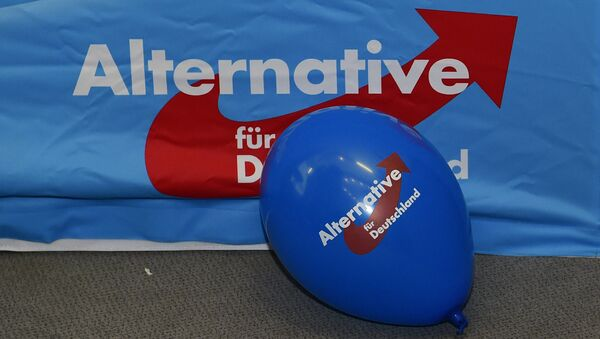 Logo del partido AfD - Sputnik Mundo