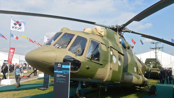 Mi-8 MTPR en el Salón Aeroespacial MAKS 2015 - Sputnik Mundo