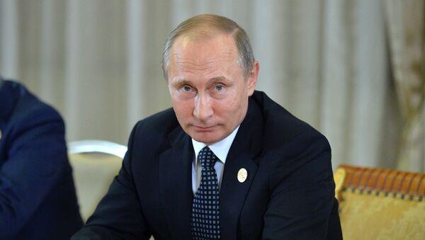 Vladímir Putin durante la cumbre del G20 - Sputnik Mundo