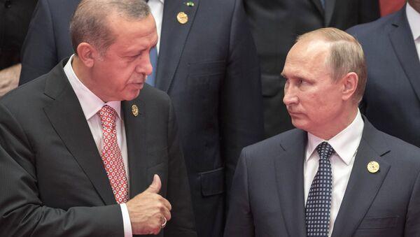 Визит президента РФ В. Путина в Китай. День второй - Sputnik Mundo