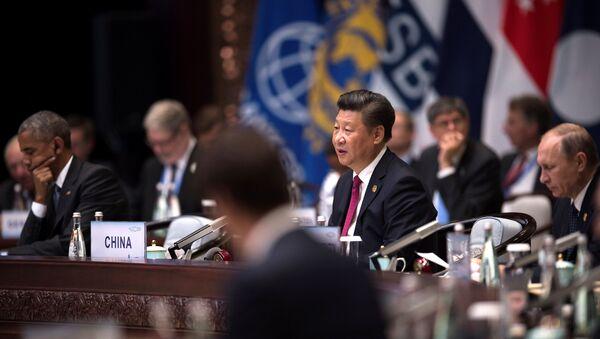 La Cumbre de G20 en China - Sputnik Mundo